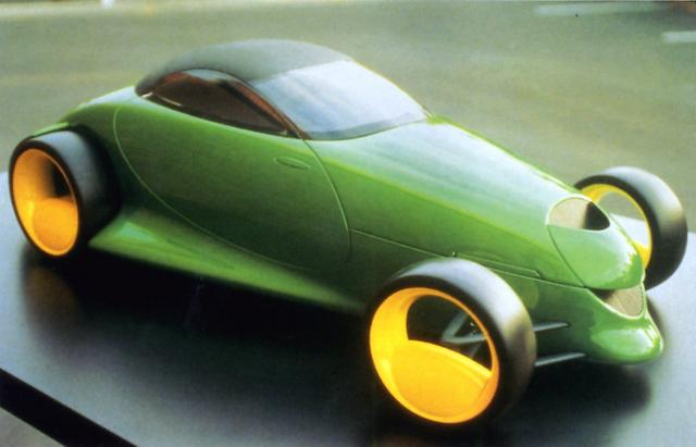 1990_Plymouth_Prowler_Concept_Car_Model