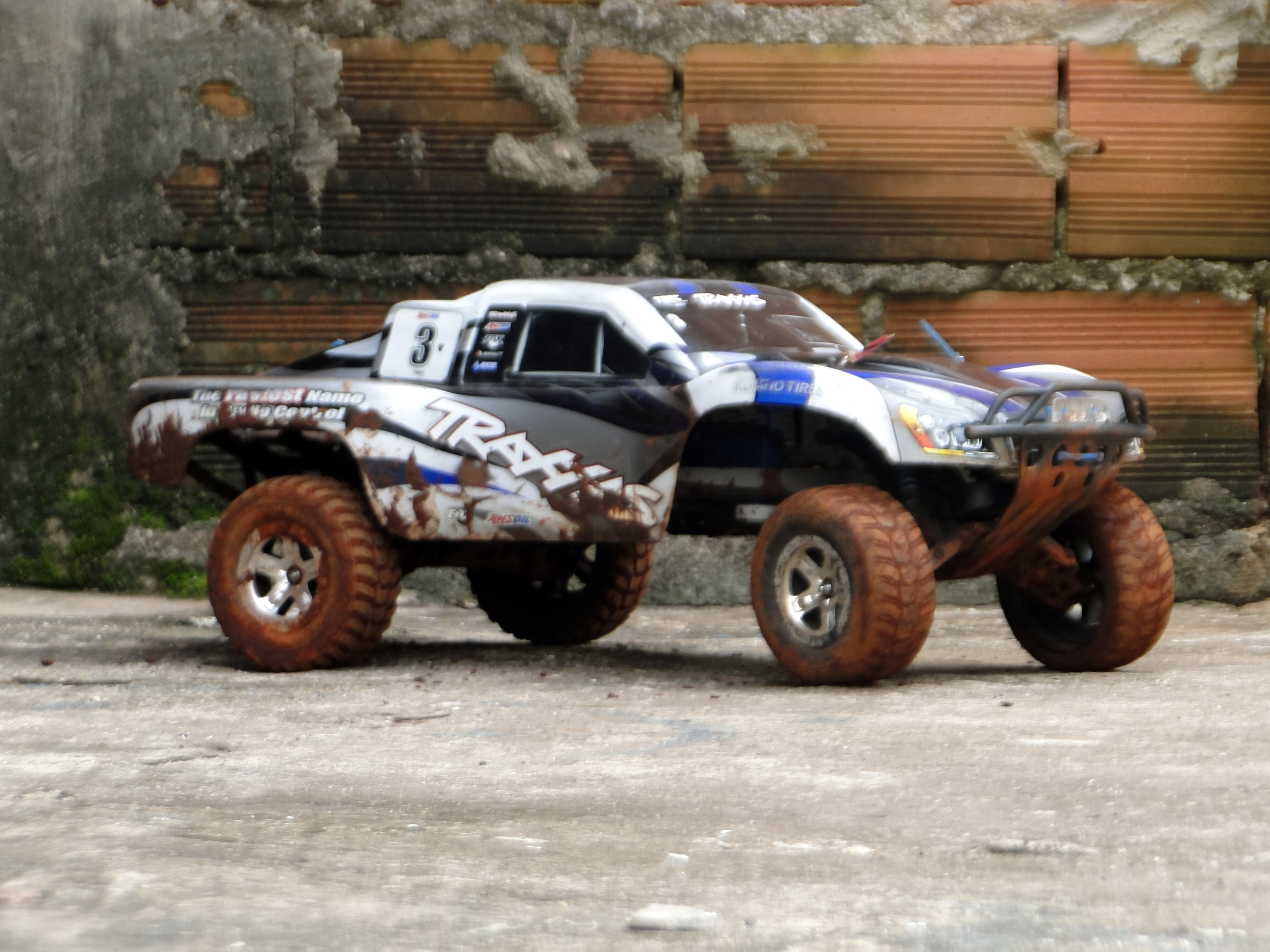 Anyone Here Into Rc Cars Off Topic Automation Traxxas Screensaver Used Slash For Sale And Also The Stampedes Wheels Body Was Lifted Using Adjustable Mounts From Pede Fentders Were Cut But Instead Of Cutting Them Round